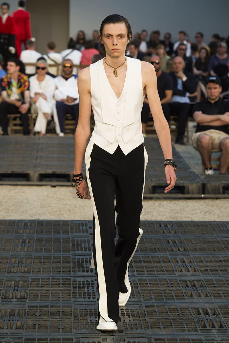 Alexander McQueen spring summer 2019 runway collection paris fashion week mens Sarah Burton