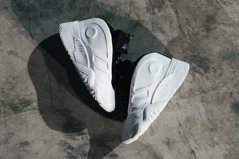 Alexander Wang Collection 1 adidas crazy 97 sneaker white
