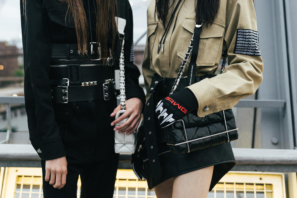 Alexander Wang Collection 1 accessories gloves bags