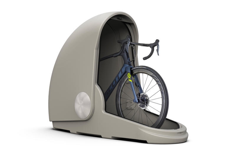 Alpen Bike Capsule Storage bicycle garage portable home price