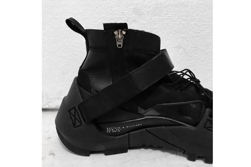 ALYX Matthew M. Williams MMW Nike Sneaker S19-NIKE-MMW closer look 1017 ALYX 9SM Spring/Summer 2019 paris fashion week