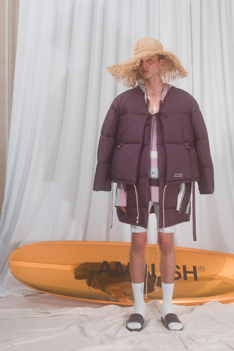 AMBUSH Yoon ahn verbal spring summer 2019 collection runway presentation surfboard hawaii beach