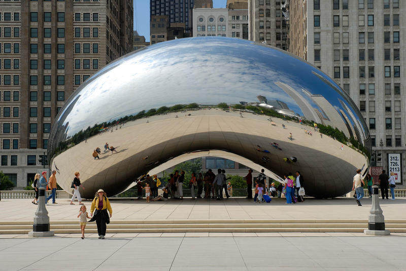 anish kapoor cloud gate sculpture national rifle association copyright infringment