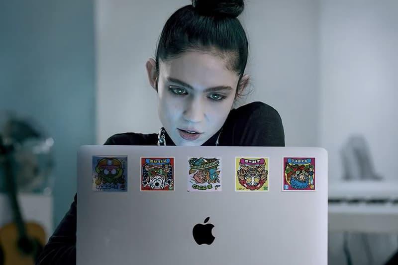 Apple Behind The Mac Ad Video Series Grimes creatives