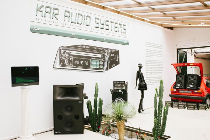 Lart de lautomobile Arthur Kar Audio Systems Paris fashion week Pop-Up spring summer 2018 Benji B deviation