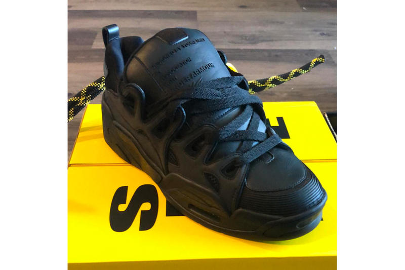 fab65fa53bbc ASAP Rocky x Under Armour Shoe New Preview