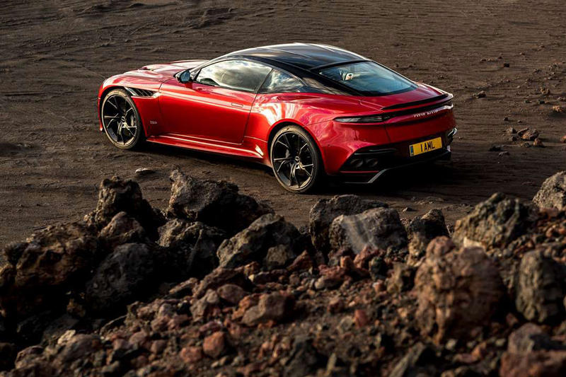 Aston Martin DBS Superleggera 2019 supercar 715 horsepower 304,995 usd price retail