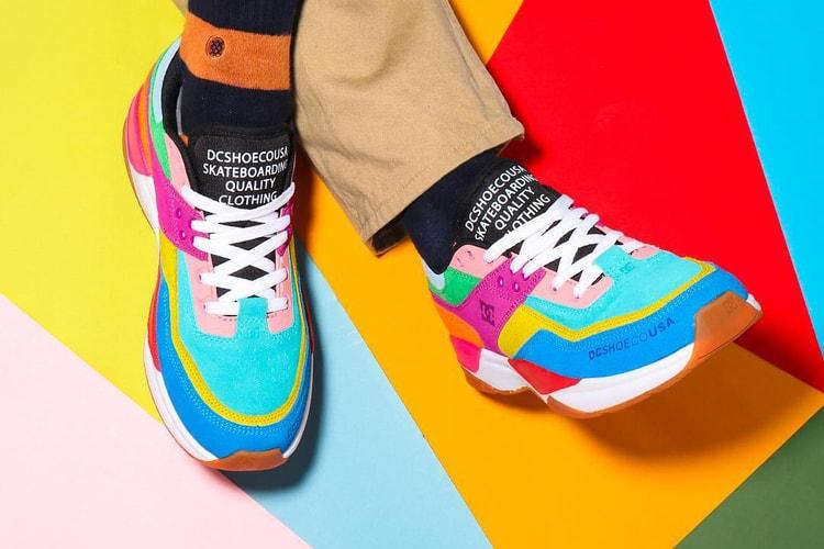 d9c92f9362a2 atmos   DC Shoes Unite for Colorful E. Tribeka Collaboration