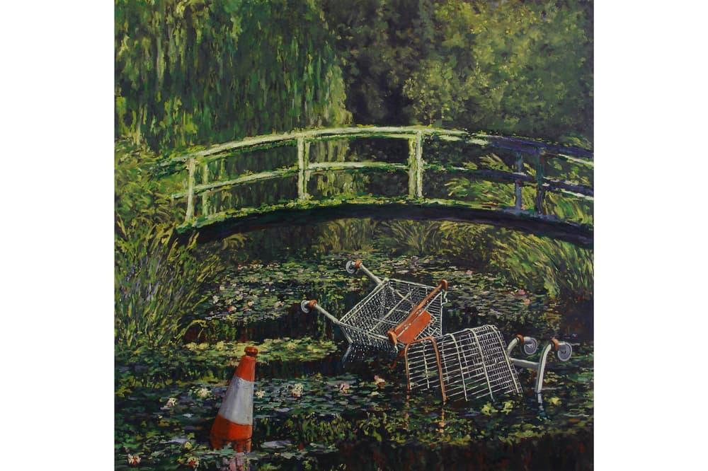banksy greatest hits lazinc sackville exhibition retrospective art show artworks paintings street art contemporary