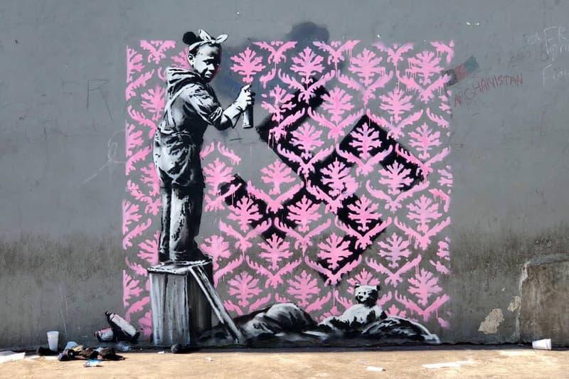 banksy paris street art murals graffiti artworks stencils