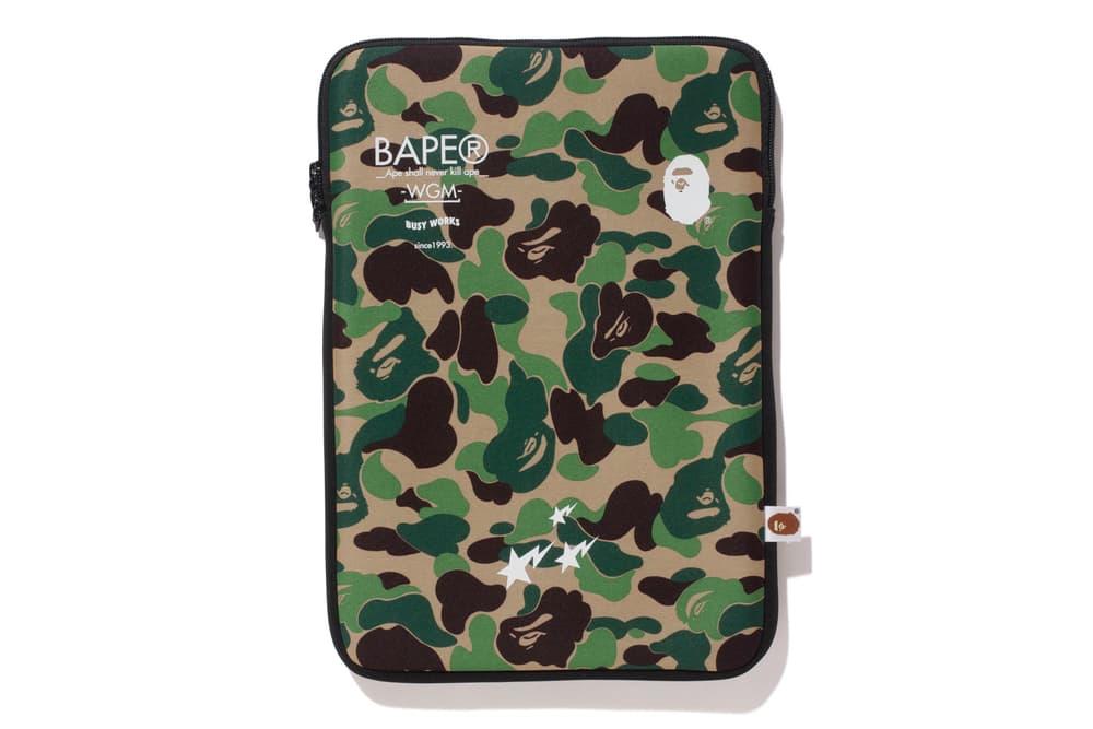 bape ABC PC CASE green