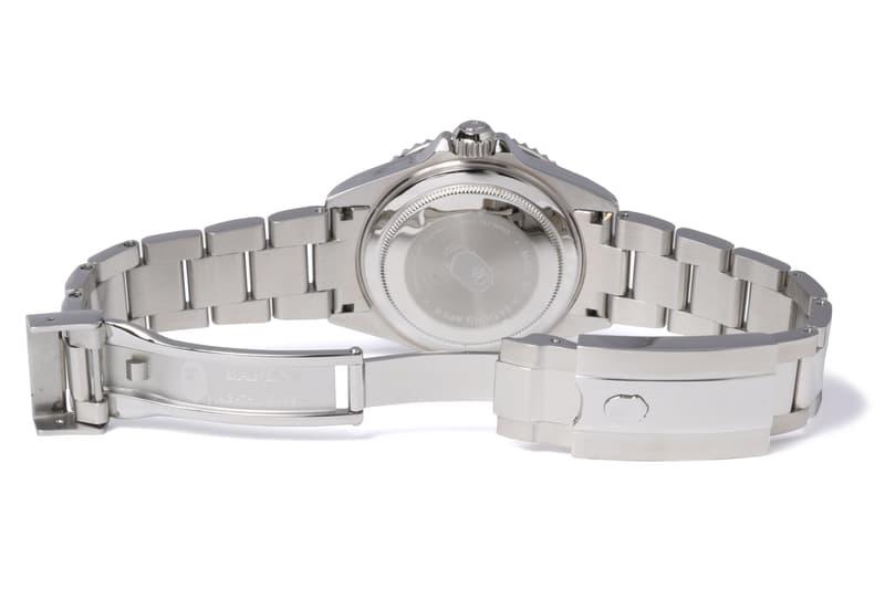 bape 1st camo type 1 bapex silver