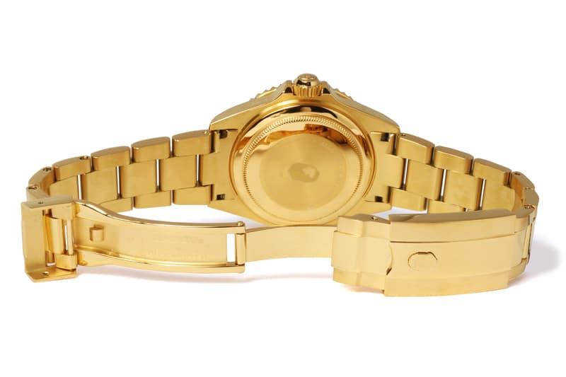 bape 1st camo type 1 bapex gold