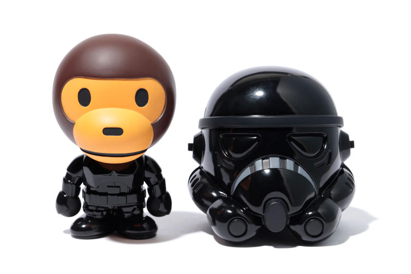 BAPE Medicom Toy 'Star Wars' Baby Milo Dolls june 23 2018 drop release date info storm trooper darth vader