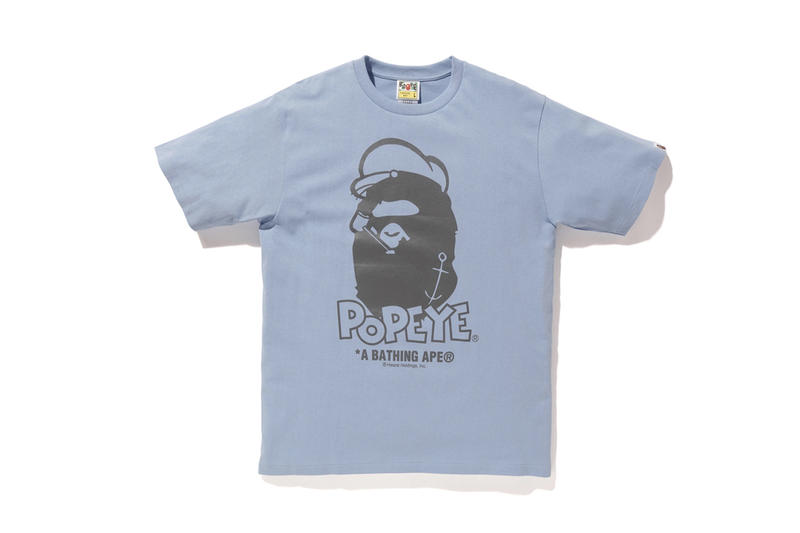 bb9b798e BAPE x Popeye 2018 Collection T-Shirts Hoodies Accessories Tote Bags  Keychains Clocks Graphic Cartoon. 11 of 21