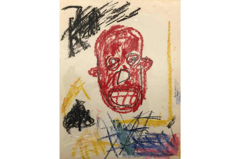 jean michel basquiat art basel 2018 drawings sketches