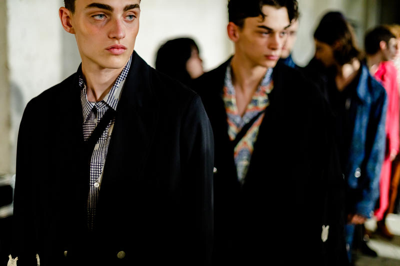 Bed JW Ford Spring Summer 2019 Backstage