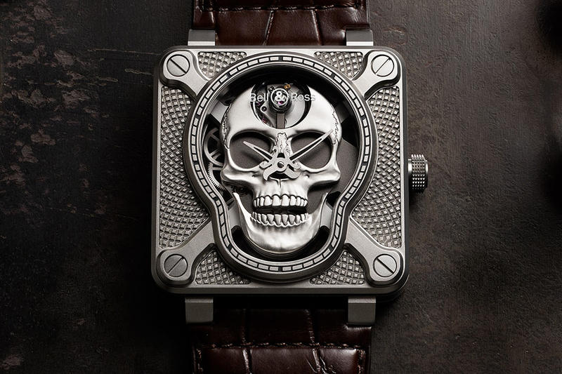 Bell Ross BR 01 Laughing Skull Watch release date info drop br01
