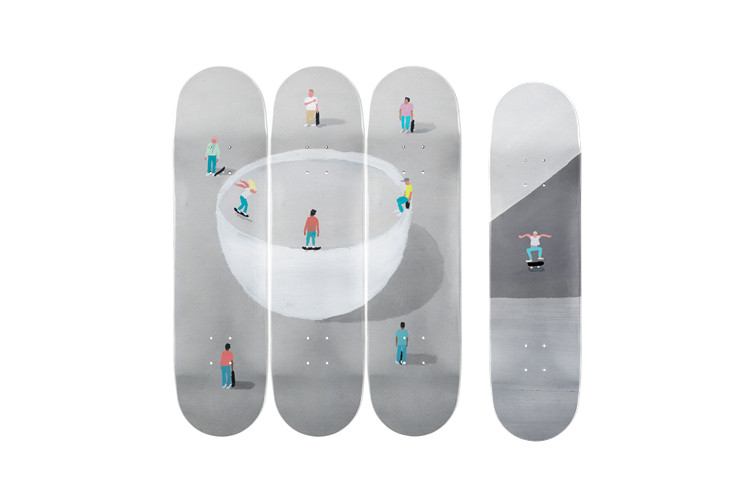 best art for sale daniel arsham hourglass sculpture wally wood skateboard decks kidult paint extinguisher wally wood collectibles artworks