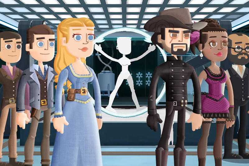 Bethesda Warner Bros. Westworld Game Rip Off Fallout Shelter