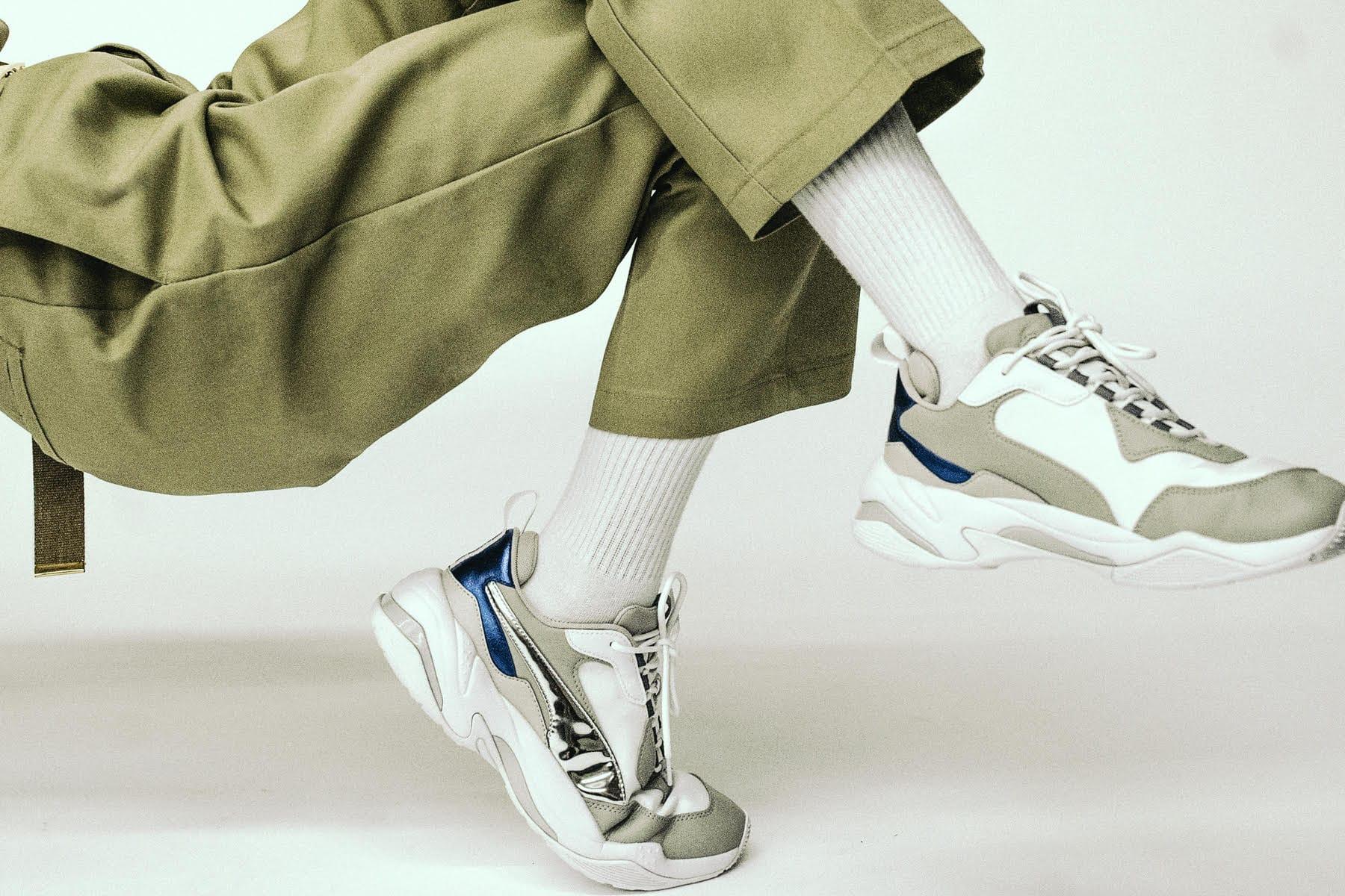 puma electric sneakers
