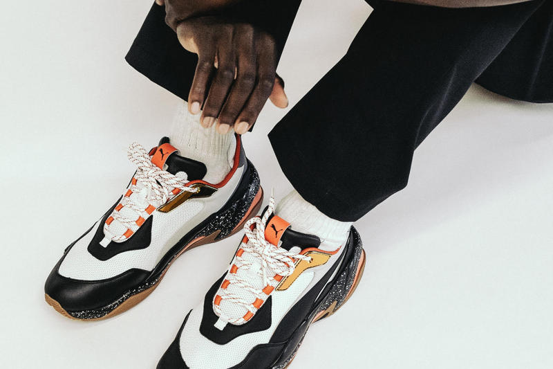 10ff654b1cd968 BLENDS FORM PUMA Thunder Electric Editorial White Black Red Silver Orange  Speckle