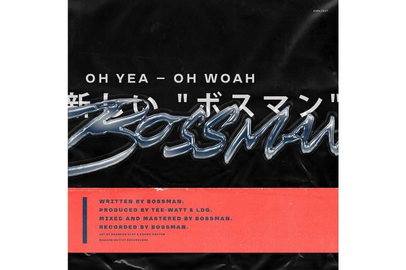 BOSSMAN Marvel Alexander Oh Yea Oh Woah Album Leak Single Music Video EP Mixtape Download Stream Discography 2018 Live Show Performance Tour Dates Album Review Tracklist Remix