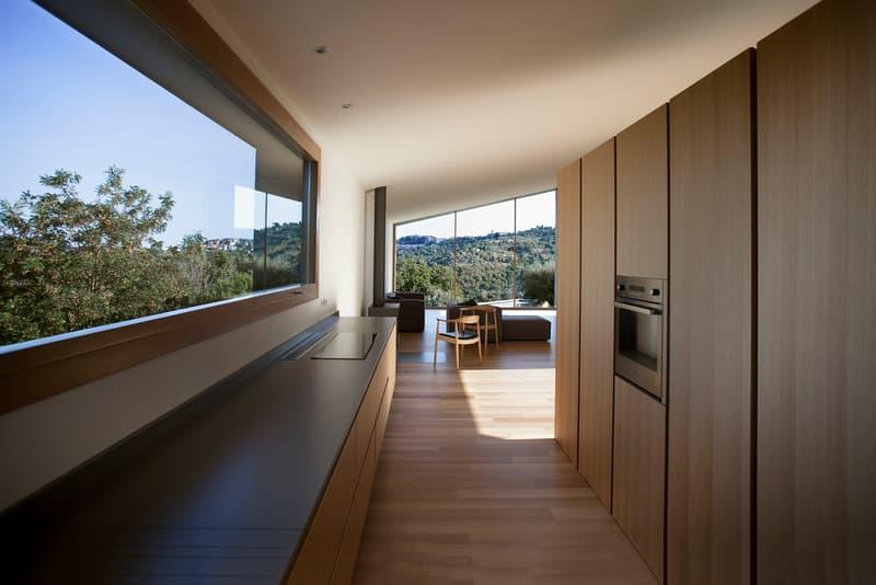 Casa K Alessandro Bulletti Architetti Perugia Italy Houses Design Interior Swimming Pool Inspiration Modern Minimalist Stone Wood