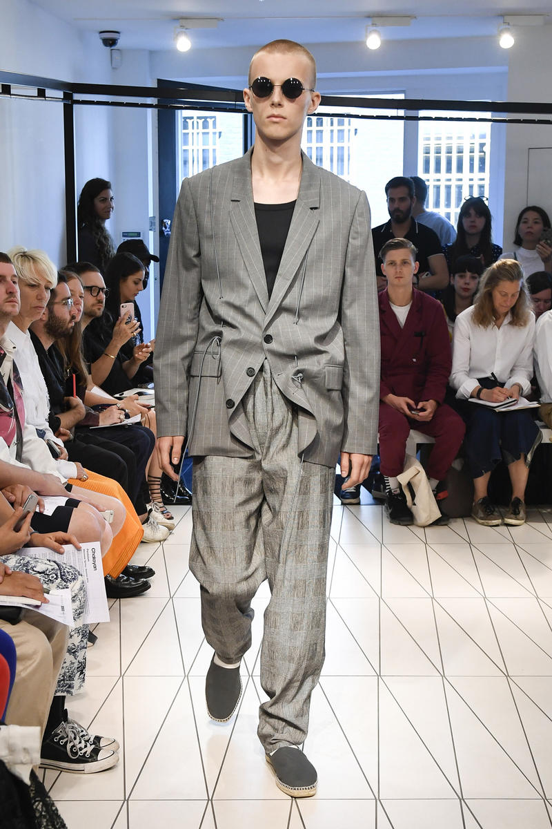 Chalayan spring summer 2019 collection runway look london fashion week mens june 10 2018 premiere
