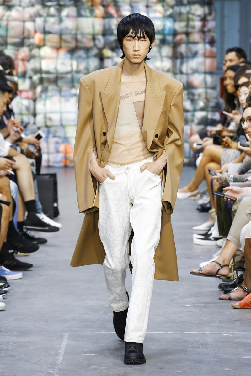 CMMN SWDN spring Menswear 2019 runway collection Saif Bakir Emma Hedlund paris fashion week sneaker