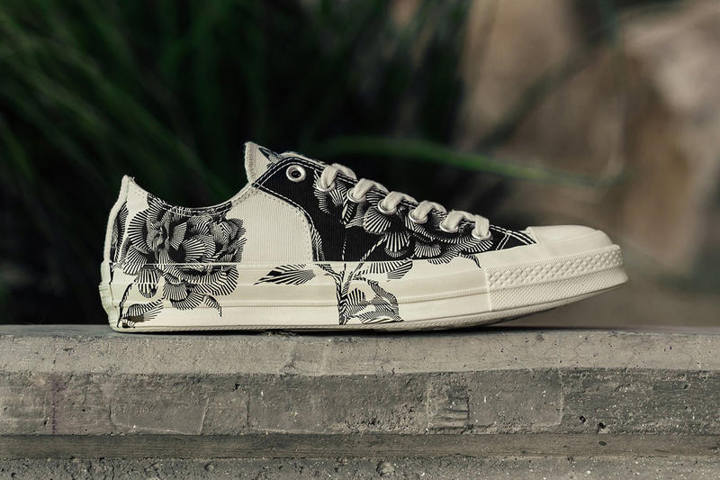 ff0d22d50169 Converse Chuck Taylor All Star 70 Low Black Egret Floral june 2018 release  date info drop