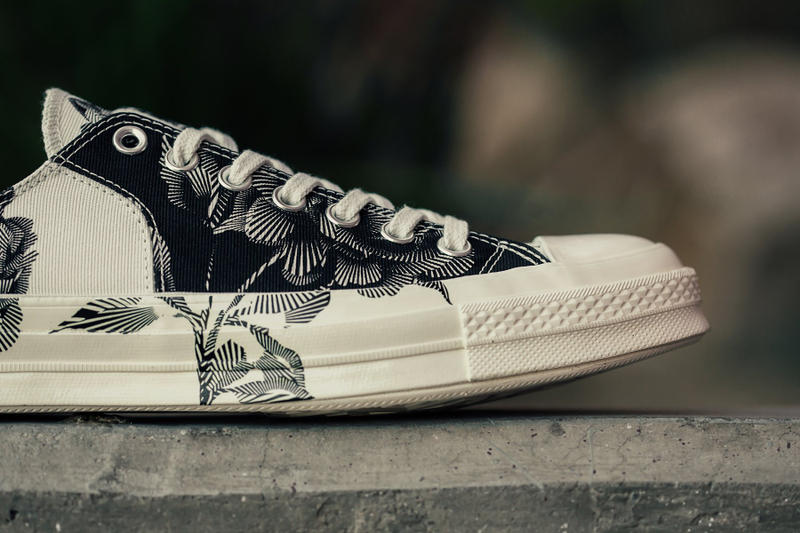 Converse Chuck Taylor All Star 70 Low Black Egret Floral june 2018 release date info drop sneakers shoes footwear