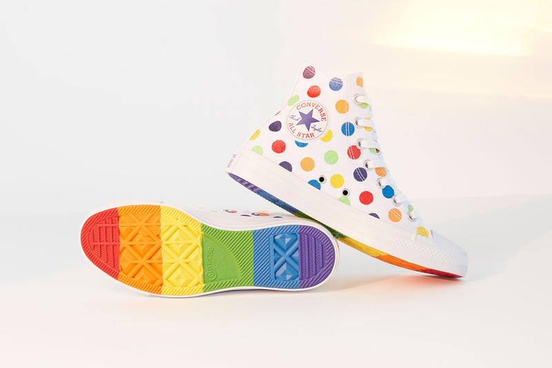 Converse Miley Cyrus Pride Designed Collection 2018 june footwear apparel
