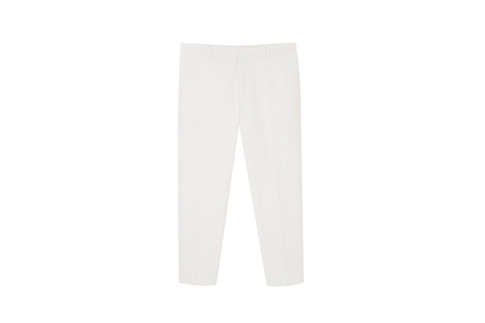 COS Soma collection trousers white