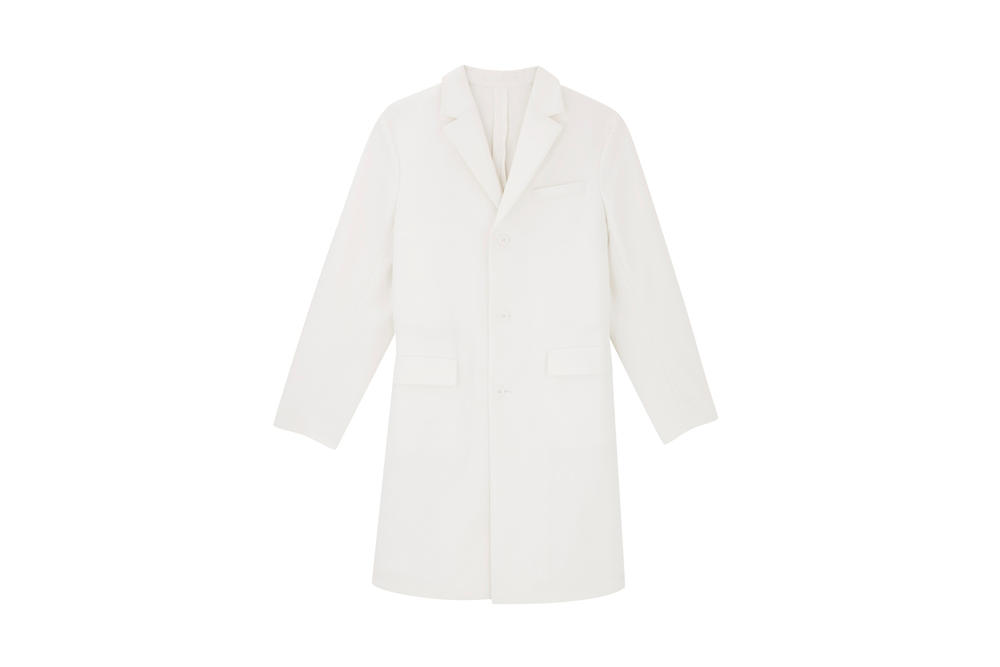 COS Soma collection white coat