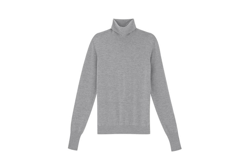 COS Soma collection turtle neck sweater grey