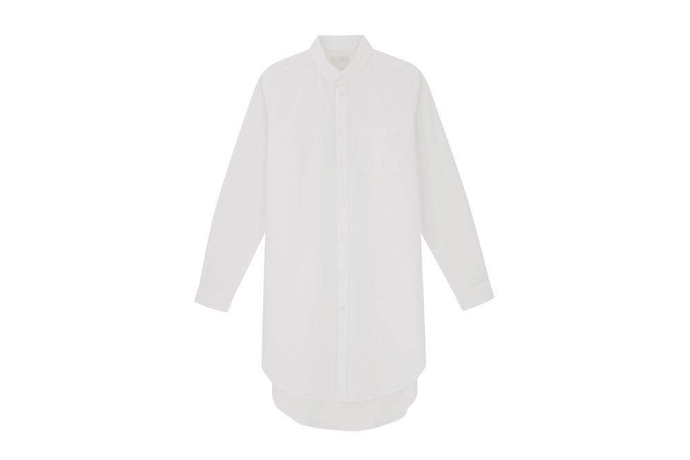 COS Soma collection oversized white shirt