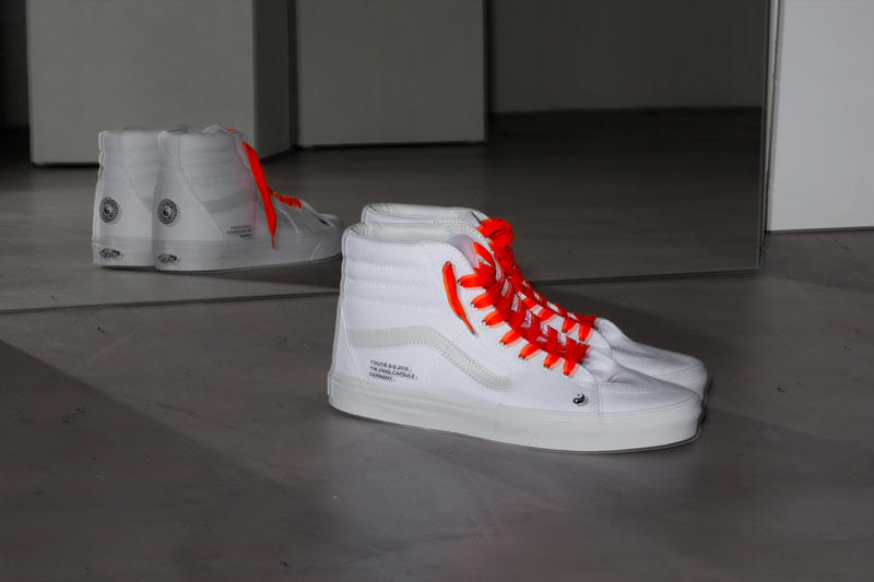 "Coutié Vans ""Yin Yang"" Sk8-Hi Collection apparel hoodie streetwear price release sneaker white t-shirt pants"