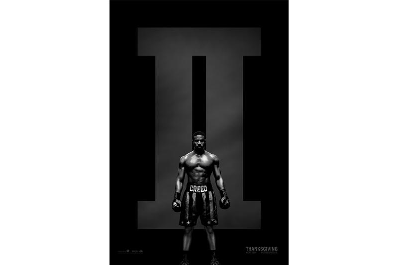 Creed 2 II Official Poster Release Info Michael B. Jordan Sylvester Stallone November 21st Adonis Rocky boxing movie theaters cinema