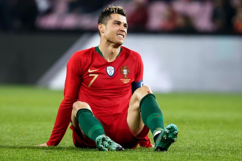 Cristiano Ronaldo spain madrid spanish court Tax Fraud evasion Fine Prison Sentence term jail time suspended Portugal football soccer netherlands 2018 fifa world cup friendly march 2018 Geneva Switzerland