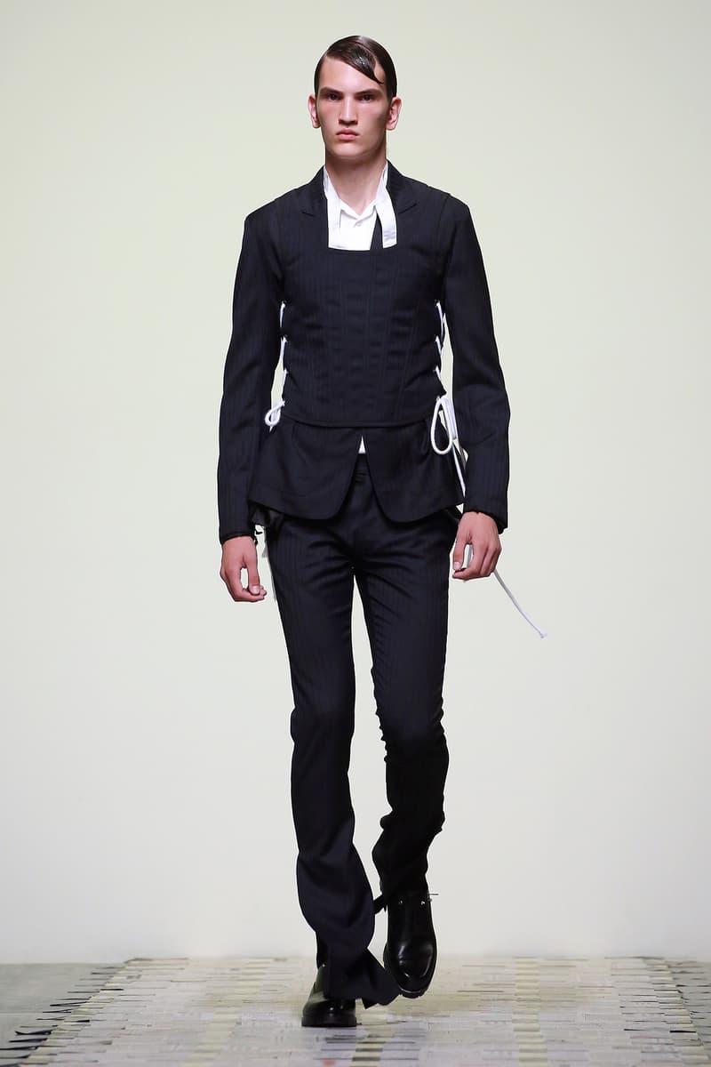 Daniel W. Fletcher Spring Summer 2019 Collection runway london fashion week mens