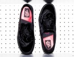 DELUXE Unveils Exclusive Velvet Vans Slip-Ons