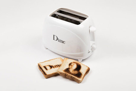 Dime's Branded Toaster Gets Official Release Date