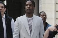 A$AP Rocky, Kid Cudi & KAWS at Kim Jones' First Dior Show in Paris