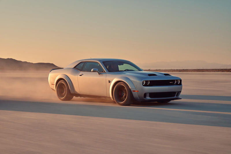 Dodge Challenger SRT Hellcat Redeye cars vehicles metallic silver