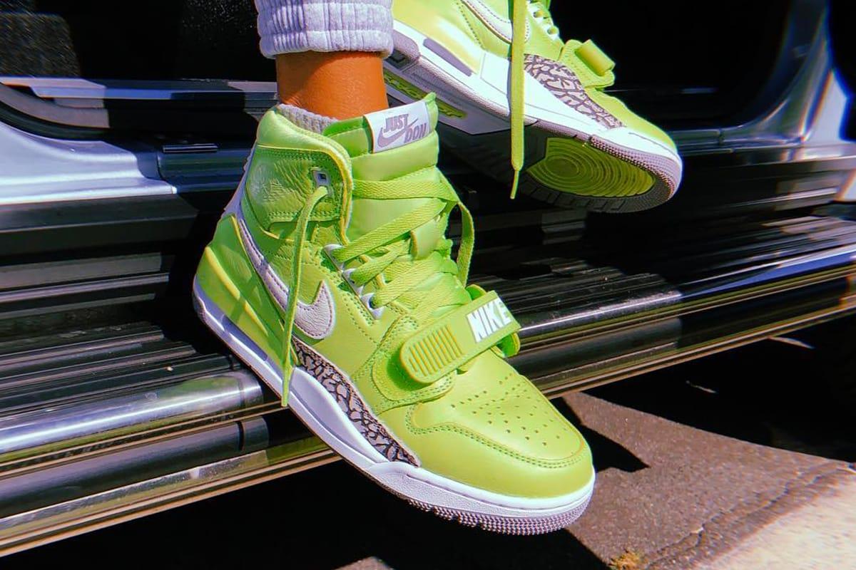 x Jordan Legacy 312 Ghost Green