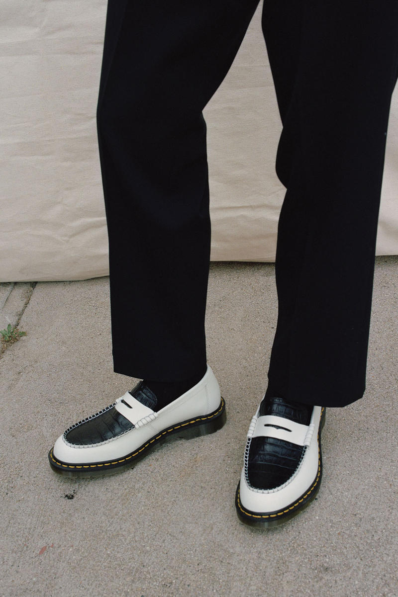 Dr Martens x Stussy Loafer Collab First Look Sneakers Kicks Trainers Shoes Release Details White Black Green Cherry Red Penton