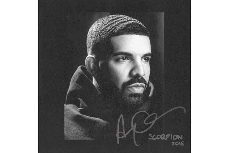 Drake Scorpion Album Cover Release Date June 29 2018