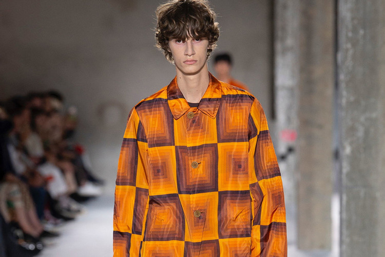 732aa2db21f5 Dries Van Noten s SS19 Collection Is a Psychedelic Wonderland