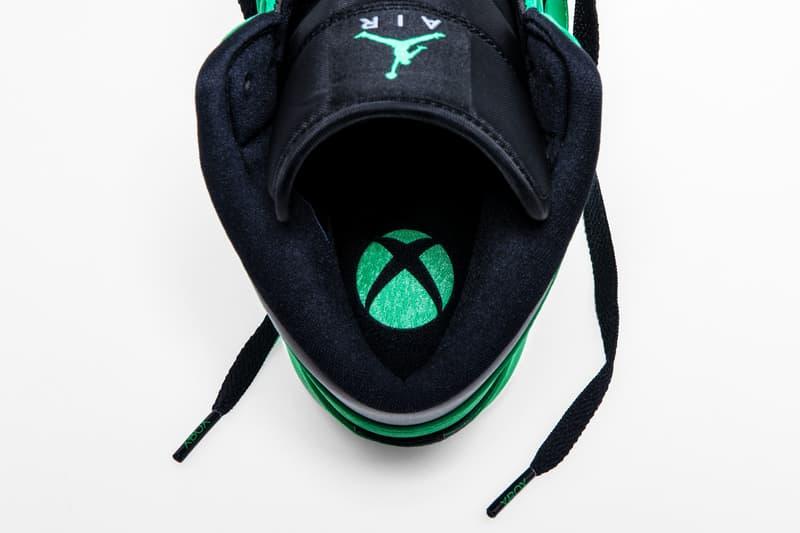 E3 2018 Exclusive Xbox Air Jordan 1 Official Look Black Green Mids jordan brand